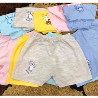 Combo 10 Quần đùi trẻ em 100%cotton Thái Hà Thịnh