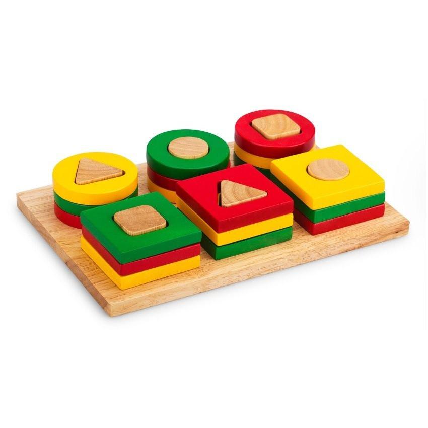 Đồ chơi Bộ xếp 6 cọc Winwintoys 64042