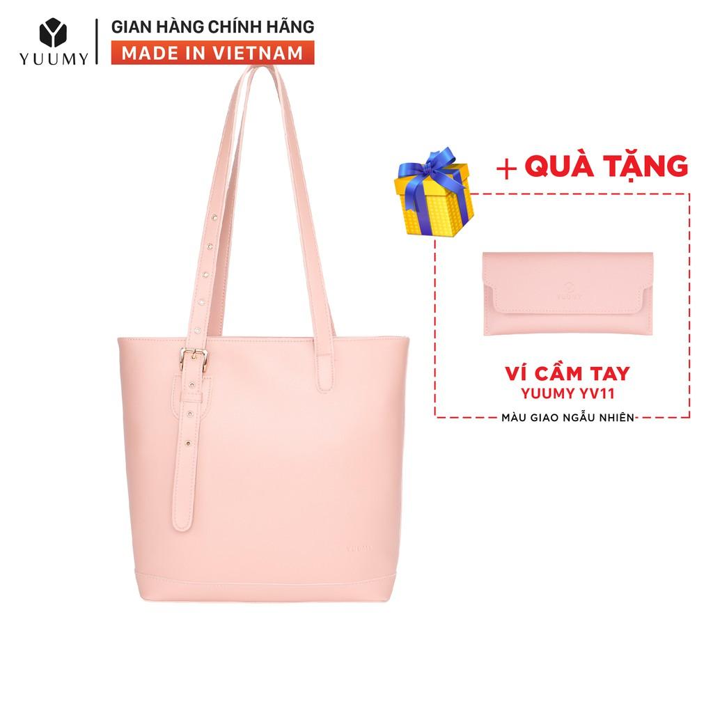 Túi xách thời trang nữ YUUMY YTX6 nhiều màu (Tặng ví cầm tay YV11)