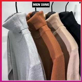 [LCL] Áo len nam Cao Cổ,Cổ Lọ chất len dệt mịn,dầy ấm áp mà vẫn mềm mại,form dáng phù hợp với nhiều lứa tuổi