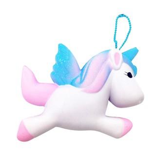 Đồ chơi Squishy hình ngựa một sừng dễ thương làm quà cho bé