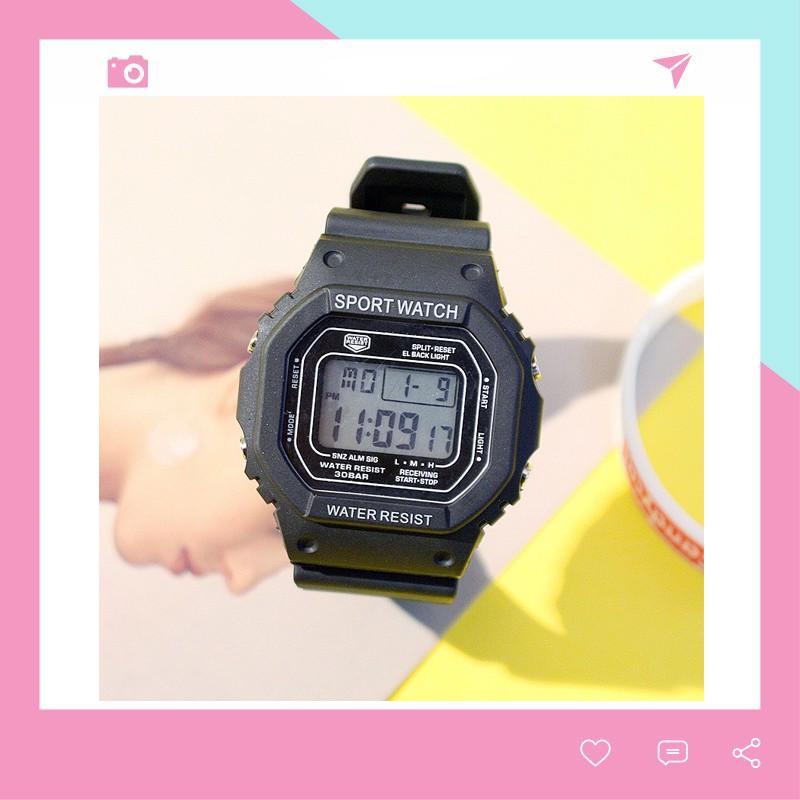 Đồng hồ nam nữ thể thao thời trang Hàn Quốc siêu đẹp DH78