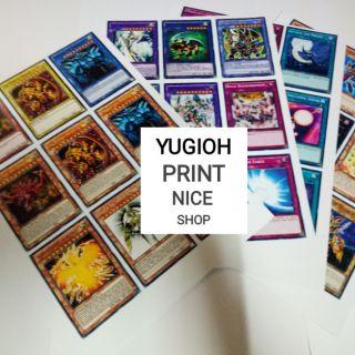 [ƯU ĐÃI KHỦNG] Combo các mẫu bài Yugioh ngẫu nhiên !!!