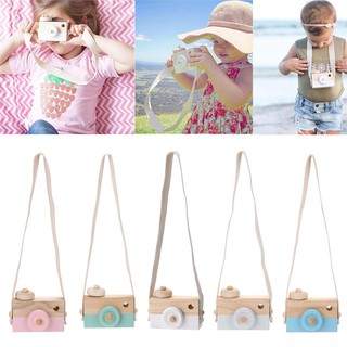 Wooden Camera Cameras Toy Children's For Children Kids