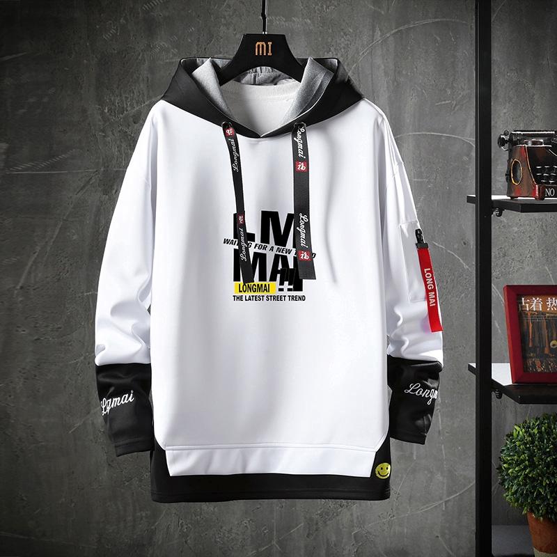 Áo hoodie viền đen phong cách thời trang dành cho nam
