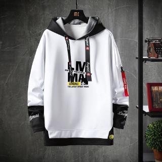 Yêu ThíchÁo hoodie viền đen phong cách thời trang dành cho nam
