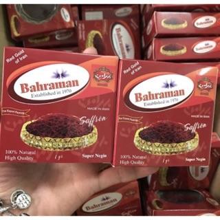 Nhụy hoa nghệ tây Bahraman - Mua trực tiếp tại Dubai - Hộp tròn thumbnail