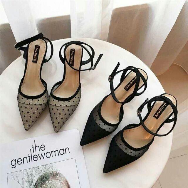 sandal nữ chấm bi đẹp