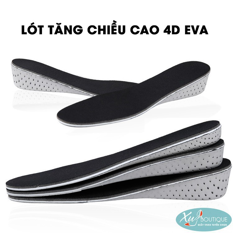 [ Giá Rẻ Nhất ]  Lót Giày Tăng Chiều Cao 4D EVA - RẺ NHẤT VN