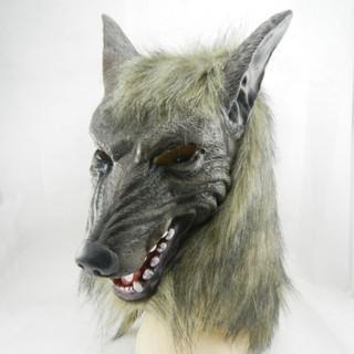 Mặt nạ hóa trang Halloween hình chó sói vui nhộn-y55 rẻ như cho bán nốt nghỉ