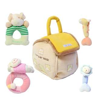 Plush Rattle for Babies