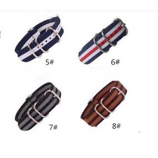 Dây đeo nylon dành cho đồng hồ ZULU NATO 18MM 20MM 22MM 24MM G10