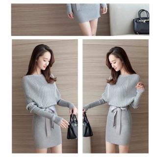 Đầm len body sale