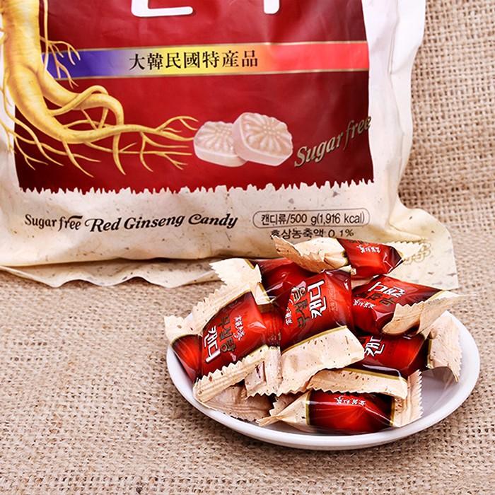 Kẹo hồng sâm không đường hàn quốc 500g - Date:2023 - KẸO SÂM