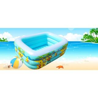 Bể bơi phao cho bé 3 tầng 2M4 chống trơn chượt
