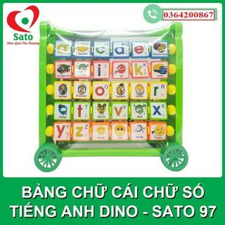 Bảng chữ cái, chữ số Tiếng anh- DINO (Sato97)