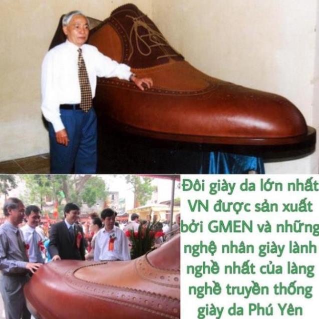 [Sale 3/3]Giày tây nam cao cấp da bò mềm mại đế cao su êm chân phong cách trẻ trung lịch lãm GM566 -x13