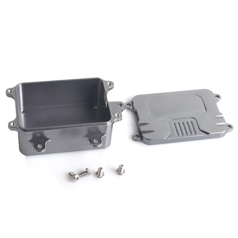 Metal Receiver Box For 1/10 Rc Crawler Car Axial Scx10 Rc4Wd D90 D110