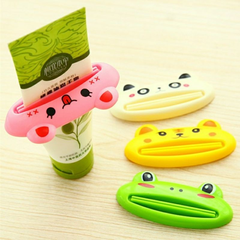 Dụng cụ nặn kem đánh răng hoạt hình