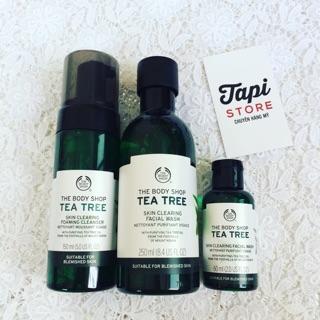 Sữa rửa mặt trà xanh The Body Shop Tea Tree