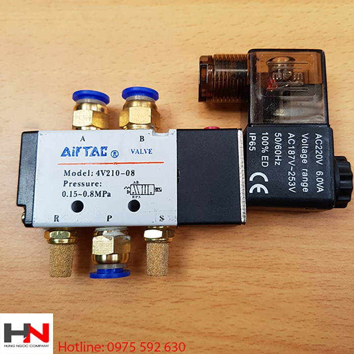 Van điện từ AIRTAC 4V210-08 ( 220V )