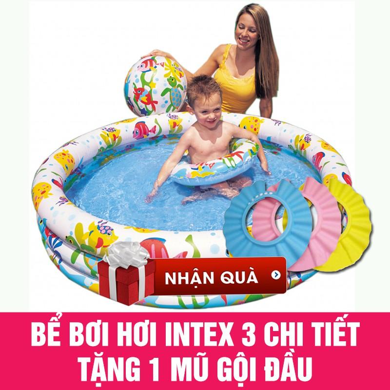 Bể bơi phao intex 3 chi tiết 132x28cm tặng 1 mũ gội đầu cho bé - 3274924 , 977792978 , 322_977792978 , 300000 , Be-boi-phao-intex-3-chi-tiet-132x28cm-tang-1-mu-goi-dau-cho-be-322_977792978 , shopee.vn , Bể bơi phao intex 3 chi tiết 132x28cm tặng 1 mũ gội đầu cho bé