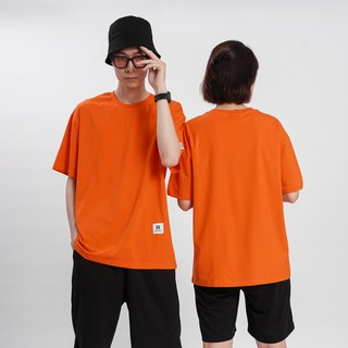 Hình ảnh [Mã FAMAYMA giảm 10K đơn 50K] Áo thun Unisex N7 Basic Tee phông trơn nam nữ tay lỡ oversize form rộng 12 màu-6