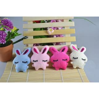 Chic Kids Baby Plush Toy Cartoon Rabbit Embrace Heart Bowkot Stuffed Toys