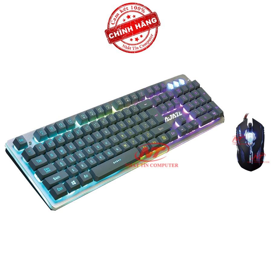 Bộ bàn phím giả cơ và chuột chuyên game Ajazz Rhino - Bosston X11 (Đen) - 2523698 , 380326225 , 322_380326225 , 694000 , Bo-ban-phim-gia-co-va-chuot-chuyen-game-Ajazz-Rhino-Bosston-X11-Den-322_380326225 , shopee.vn , Bộ bàn phím giả cơ và chuột chuyên game Ajazz Rhino - Bosston X11 (Đen)