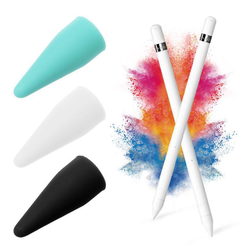 Ốp silicon bảo vệ đầu bút cảm ứng cho Apple Pencil