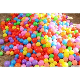 [ SHOCK ] Túi 50 quả bóng nhựa 5cm cho bé chơi nhà bóng – bể bơi – Nhựa nhập Hàn Quốc – Sản xuất tại Việt Nam