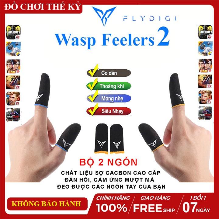 Flydigi Wasp Feelers 2 | Găng tay chơi game PUBG, Liên quân, chống mồ hôi, cực nhạy, co giãn cực