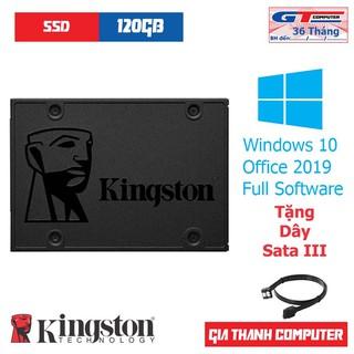 SSD Kingston A400 120GB | 240GB 2.5″ SATA Rev 3.0 (6Gb/s) + Tặng Dây Sata III