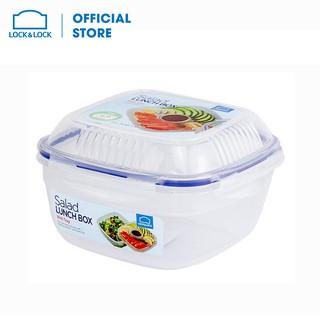 [Mã LIFEHL9 giảm 8% tối đa 100K đơn 250K] Hộp bảo quản thực phẩm- Tô salad 1.6L Lock&Lock - HSM8450T thumbnail