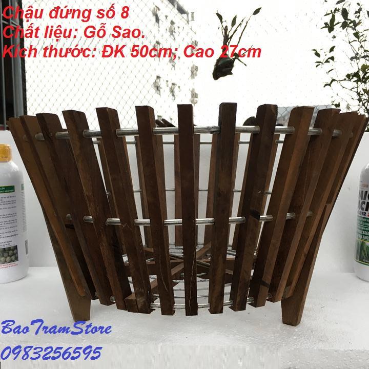 Chậu trồng lan bằng gỗ Sao mẫu chậu đứng số 8 Đường kính 50cm cao 27cm - 15257435 , 870199601 , 322_870199601 , 310000 , Chau-trong-lan-bang-go-Sao-mau-chau-dung-so-8-Duong-kinh-50cm-cao-27cm-322_870199601 , shopee.vn , Chậu trồng lan bằng gỗ Sao mẫu chậu đứng số 8 Đường kính 50cm cao 27cm