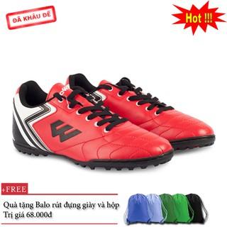 Giày đá bóng Prowin FX đỏ - nhà phân phối chính từ hãng - tặng kèm Balo rút đựng giày thumbnail