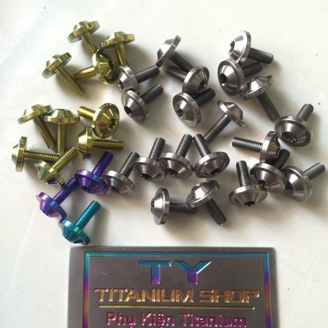 Ốc Titan 5li15 5ly15 Dù To gắn áo và nhiều vị trí xe máy