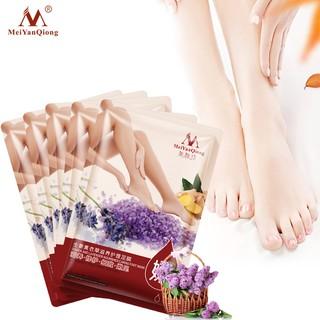 MeiYanQiong Set 5 mặt nạ chăm sóc chân tinh chất hoa oải hương và gừng thumbnail