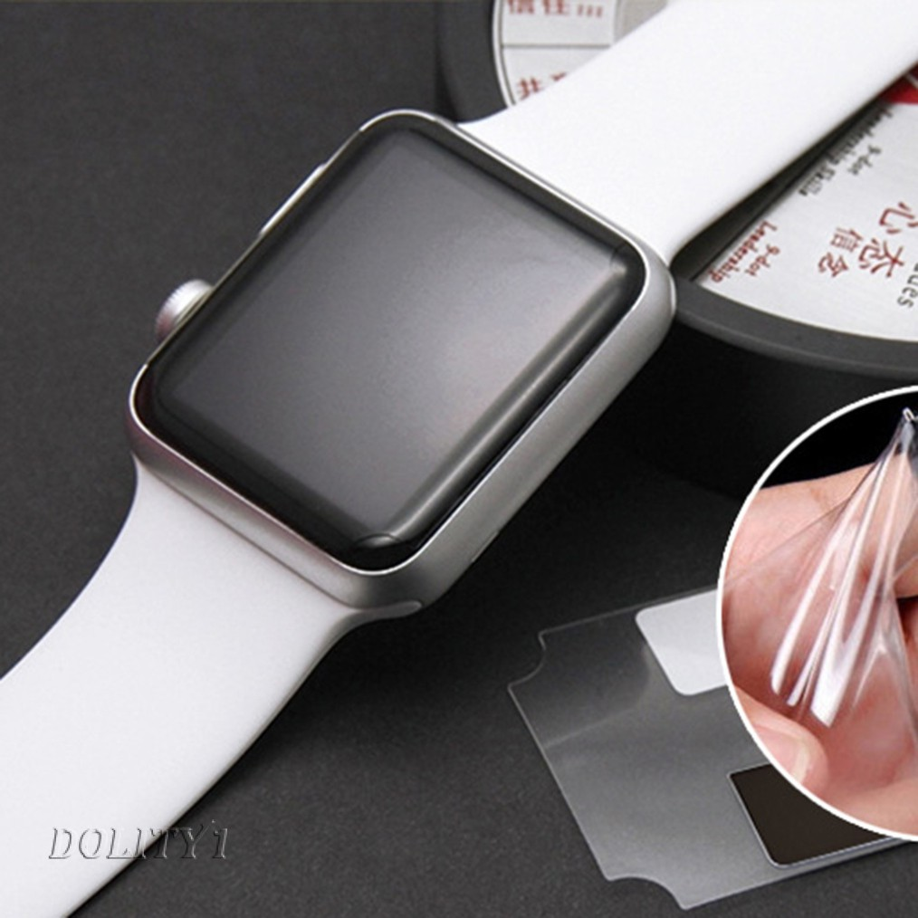 2x Soft Hydrogel Film Front Screen Clear Case for Apple iWatch Series 4 40mm