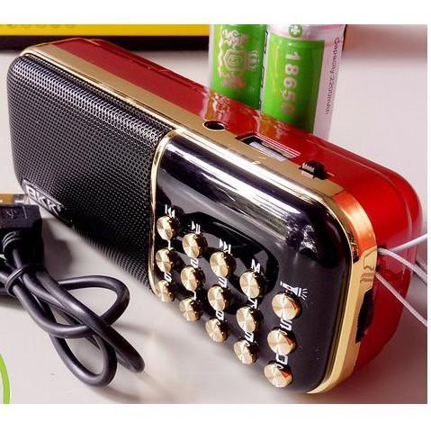 Loa Thẻ Bkk K51 - Đèn Pin