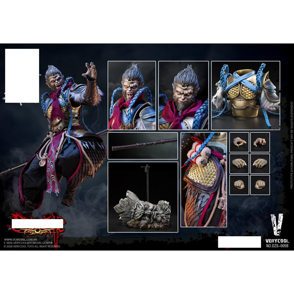 [Sẵn Hàng]Mô hình Tôn ngộ không monkey king phần game Asura của Verycool tỉ lệ 1/6 mã DZS005 DZS-005