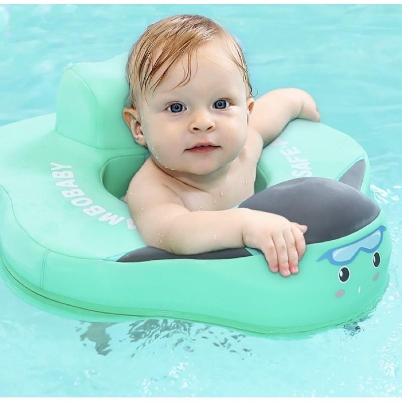 Phao bơi thư giãn cho bé 4 tháng 1 2 tuổi phao chống lật cho bé 6kg đến 18kg