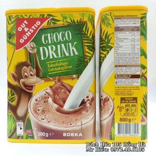 [T6.2022] Bột Cacao Choco Drink 800g