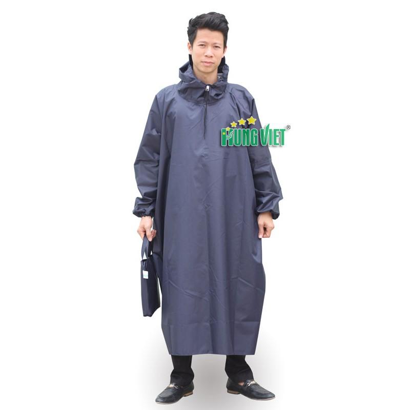 Áo mưa quây tròn vải siêu nhẹ chính hãng Hưng Việt