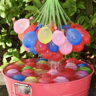 NEW❤❤111 Fast Fill Magic Water Balloons Self Tying Bunch O Balloon Bombs