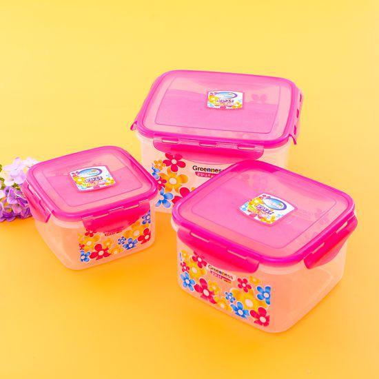 Bộ 3 hộp nhựa có nắp đựng thực phẩm vuông GREEN 8018 - 2918810 , 495637326 , 322_495637326 , 79000 , Bo-3-hop-nhua-co-nap-dung-thuc-pham-vuong-GREEN-8018-322_495637326 , shopee.vn , Bộ 3 hộp nhựa có nắp đựng thực phẩm vuông GREEN 8018