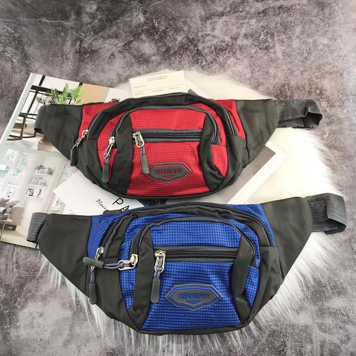 Túi đeo bao tử đựng tiền, điện thoại, pin sạc