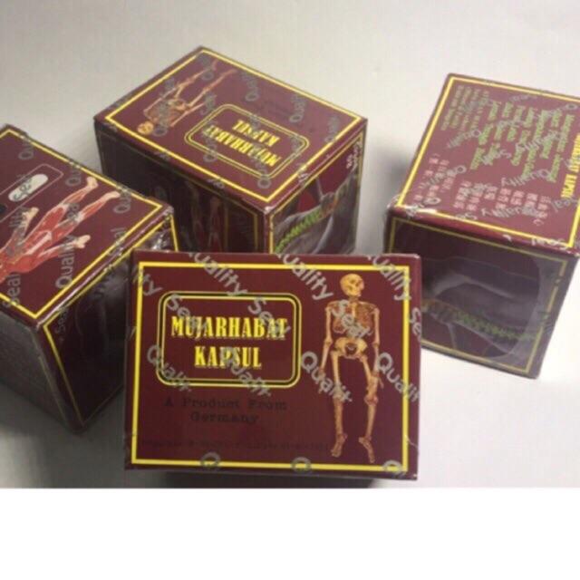 Mujarhabat Kapsul - hỗ trợ điều trị xương khớp
