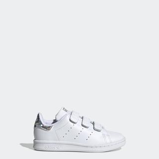 adidas ORIGINALS Giày Stan Smith Unisex trẻ em Màu trắng EE8484 thumbnail