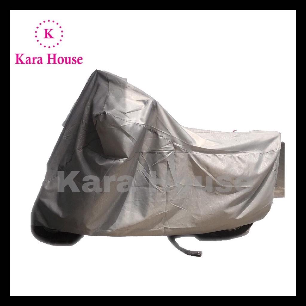 Áo Trùm Xe Máy, Bạt Trùm Xe Máy Vải Dù Cao Cấp Chống nước tuyệt đối Kara House - Nhiều màu